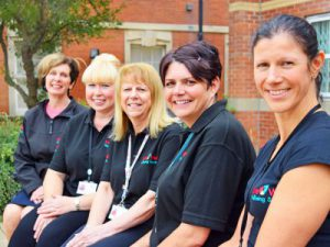 Wellbeing service team one